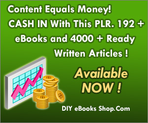 PLR eBooks and Content